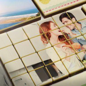 Fotogaver som chokolade