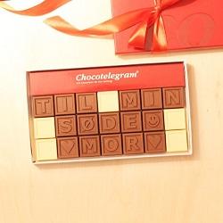personlig gave Chokolade til din mor