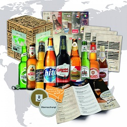personligt Gavesæt med øl fra hele verden