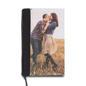 Notesbog med personligt billede