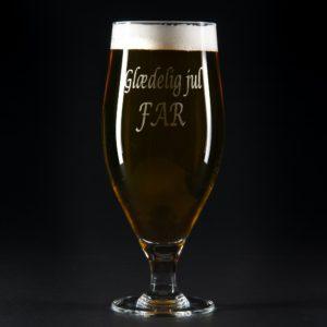 fotogave ølglas