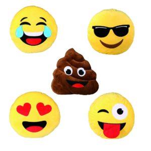 Sjove emoji puder