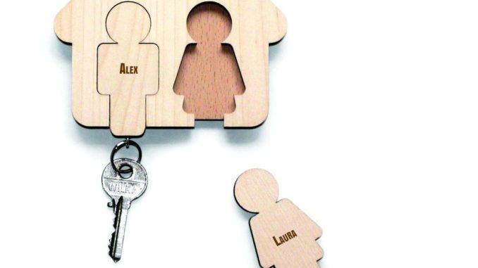Nøgleholder til væg