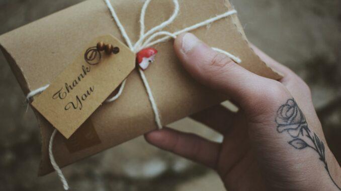 giv en fin gave
