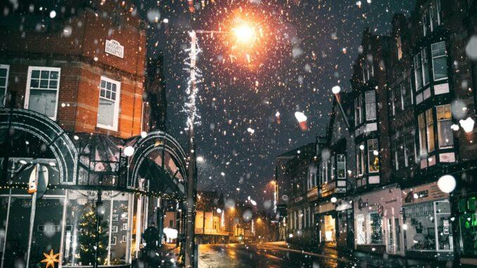 Hyggeligt julelys