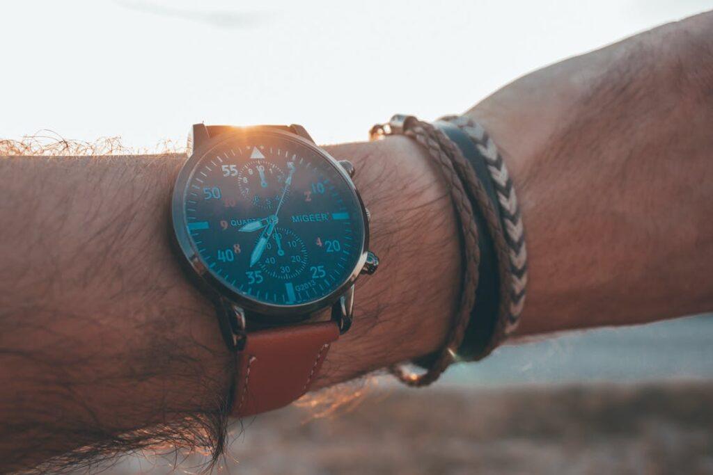 Armbåndsur til mand